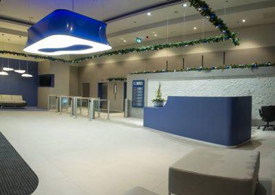 Westend Irodaház –  A B C lobby