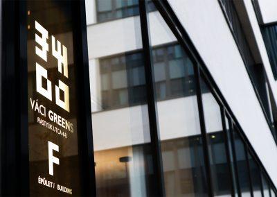 Váci Greens Irodaház  – F épület